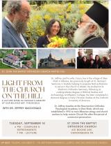 Metropolitan Theodosius Memorial Lecture Series: Dr. Jeffrey & Caryn Macdonald